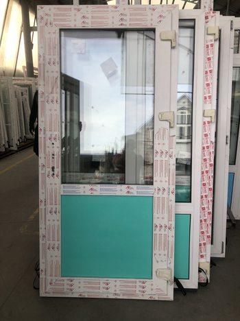 Дверь пластиковая 980*2080-32 с/п Artec