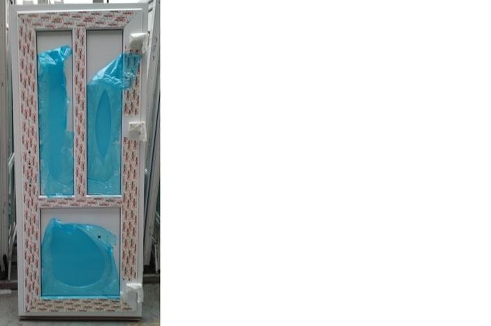 Дверь пластиковая 2020х840 32 сендв. Alpenprof