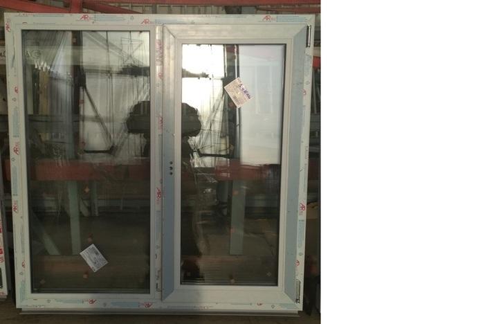 Окно пластиковое 1187х1189 32 с/п Artec 60 мм